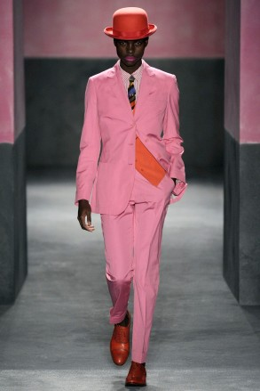 2010 runway show for Paul Smith