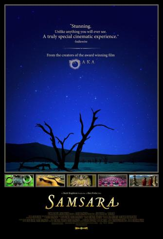 Samsara Movie Poster (Click Image for U.S. Theater Listings)