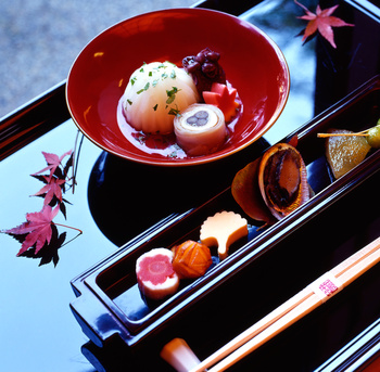 One of the most important qualities of Japanese Kaiseki is presentation.