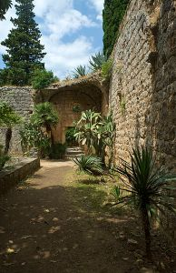 "alt=""Benedictine Monastery at Lokrum Island, Croatia"""