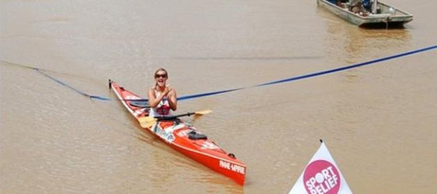 Helen Skelton Kayak's Down the Amazon