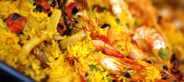 Traditional Style Spanish Paella from Valencia