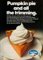 Cool Whip Holiday Ad, 1969