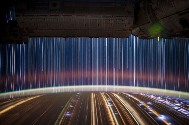 "Don Pettit's ""Star Trails"""