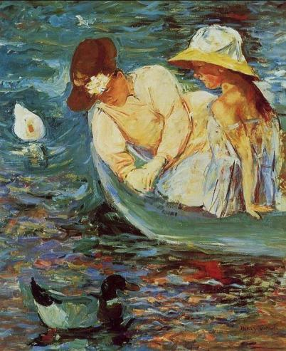 "alt=""Summertime'  (Mary Cassatt, c. 1894)"""