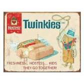 "This vintage sign featured the character ""Twinkie the Kid."" (Courtesy of Hostess)"