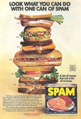 Vintage Spam Ad, c. 1970's