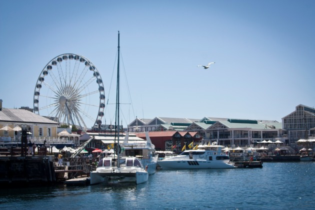 Cape Town's famous Waterfront