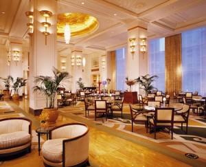 Afternoon tea at the Peninsula Hotel. (Courtesy Peninsula Hotel)