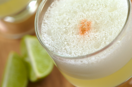 Pisco Sour from Peru