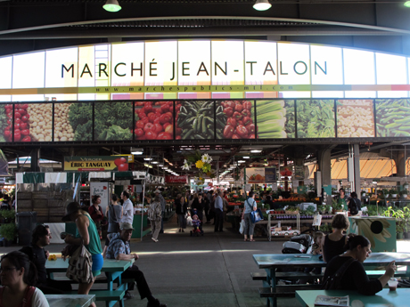 JEAN-TALON MARKET – Montréal, Québec, Canada (Photo courtesy of Montreal Tourism)