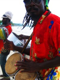 Reggae on the beach in Negril, Jamaica