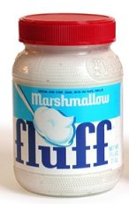 The star ingrdedient in the Fluffernutter snadwhich: Marshmallow Fluff