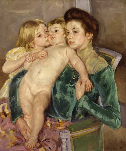 "Mary Cassatt's ""The Caress"""