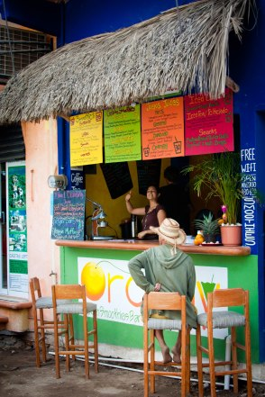 "Our favorite Sayulita juice bar, ""Orangy's"""