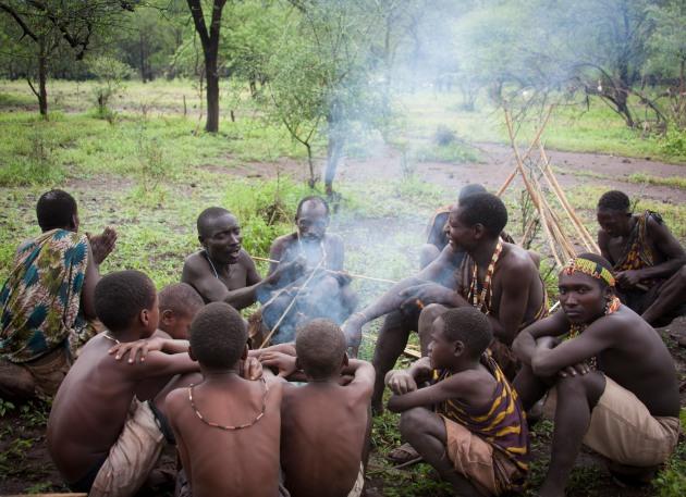 Hadza Bushmen, Lake Eyasi, Tanzania