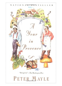 "Best Books About Travel and Adventure: ""A Year in Provence"" -- In this witty and warm-hearted account, Peter Mayle tells what it is like to realize a long-cherished dream and actually move into a 200-year-old stone farmhouse in the remote country of the Lubéron with his wife and two large dogs."