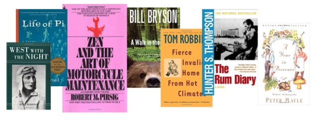 What to Read While on the Road: The Best Books About Travel and Adventure