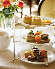 Tea at the Four Seasons, Chicago