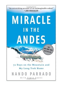 "Best Travel Books: ""Miracle in the Andes"" Nando Parrado was unconscious for three days before he woke to discover that the plane carrying his rugby team, as well as their family members and supporters, to an exhibition game in Chile had crashed somewhere deep in the Andes."