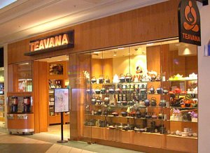 Entrance to Teavana, Chicago