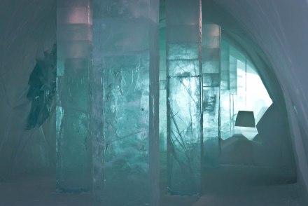 Ice lamp!