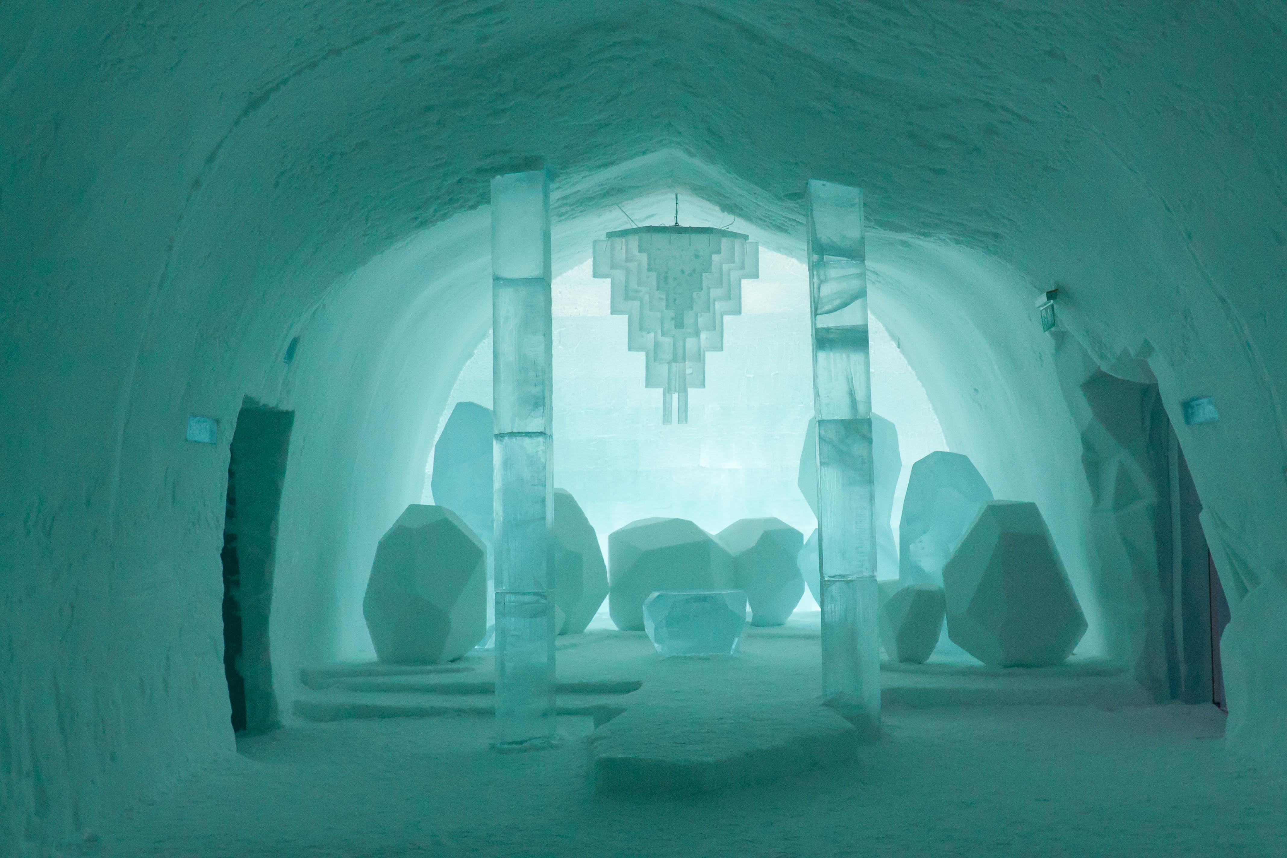 Icehotel in Jukkasjärvi