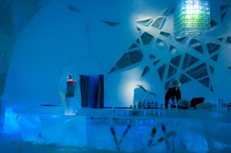 The Ice Bar - the original ice bar, the ice bar that made ice bars cool.