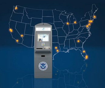 Global Entry is available in 44 locations in North America. (As of 5/18/2013)
