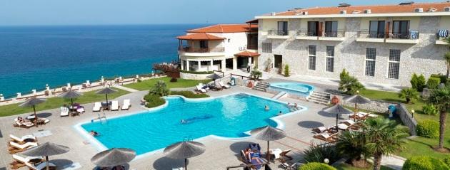 The Blue Bay Hotel in Halkidiki