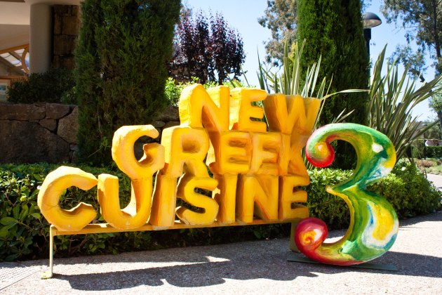 """New Greek Cuisine 3"" at the Sani Resort in Halkidiki, Greece."