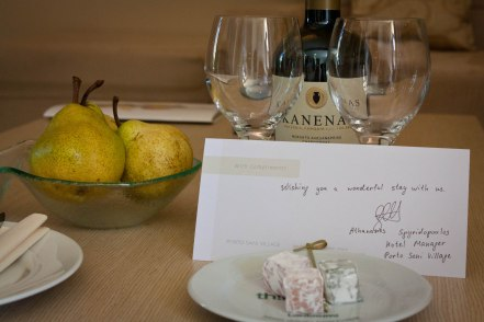 Personal touches like hand-written welcome notes leave a lasting impression