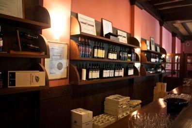 Tasting room at Domaine Porto Carras, Sithonia, Greece