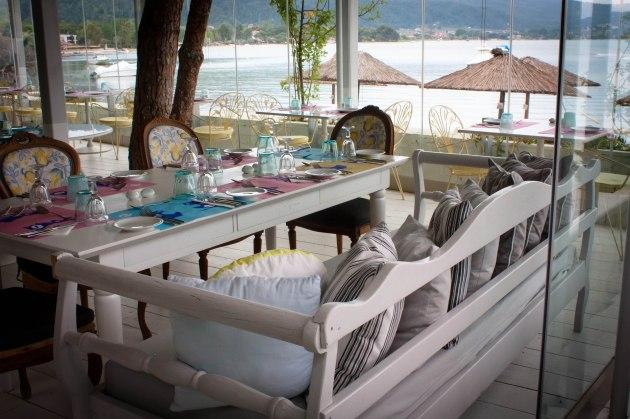 Lunch at the Ekies All Senses Resort