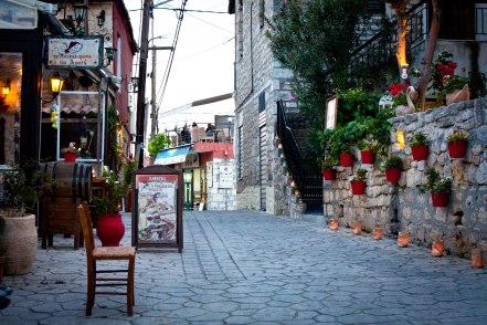 Village of Afitos, Halkidiki, Greece