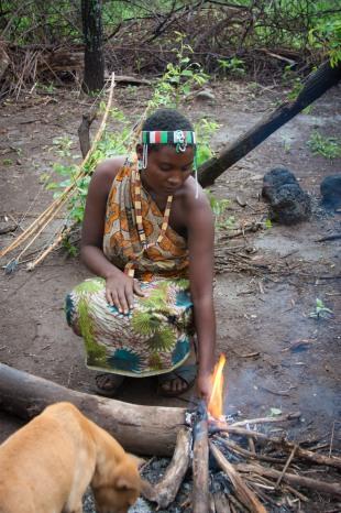 The Hadzabe Bushmen in Tanzania