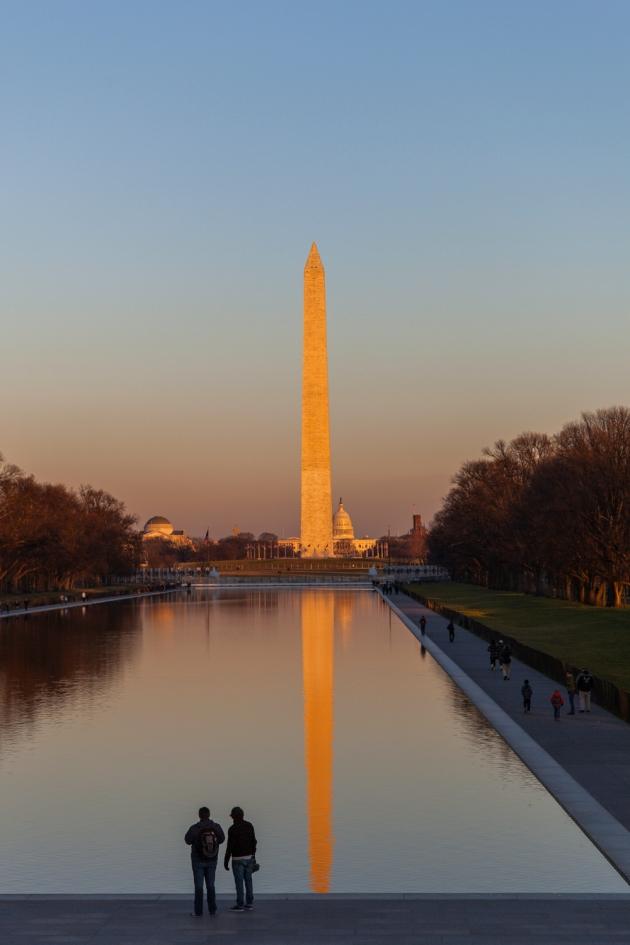 The Reflecting Pool in Washington, DC (Photo credit: Jonathan Irish)