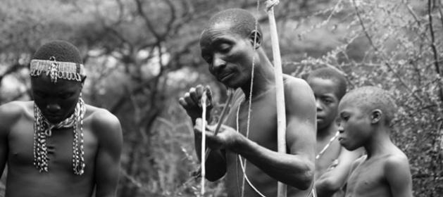 Hadza Bushmen in Tanzania (Image credit: Stefanie Payne)