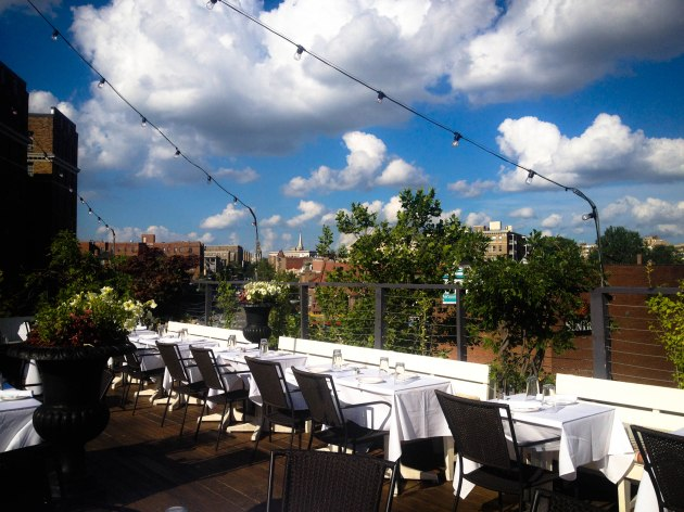 Perry's rooftop restaurant and bar in Adams Morgan
