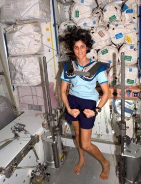 Astronaut Suni Williams