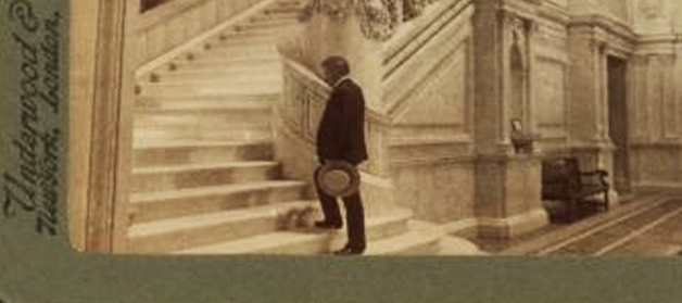 Grand Staircase, Library of Congress, Washington, D.C., U.S.A, from Robert N. Dennis (Image credit: Library of Congress)