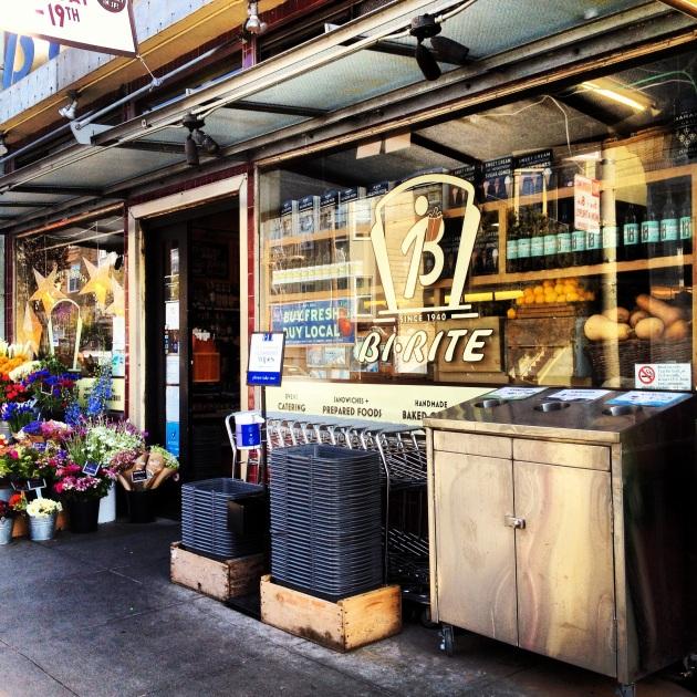 Bi-Rite Organic Market in San Francisco's Mission District.