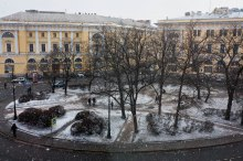 St. Petersburg in March.