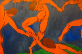 The La Dance painting by Henri Matisse at Saint Petersburg's State Hermitage Museum