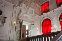 Inside the entrance of Catherine's Palace in Pushkin, 25 km south of St. Petersburg.