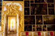 Artwork on display at Catherine's Palace (second home of Catherine II), Pushkin, Russia.