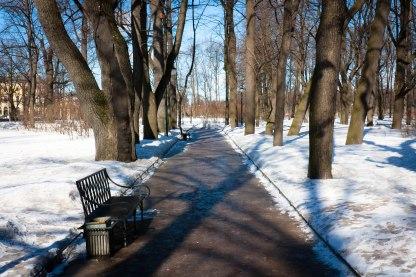 Fyodor's stomping ground, Church Park