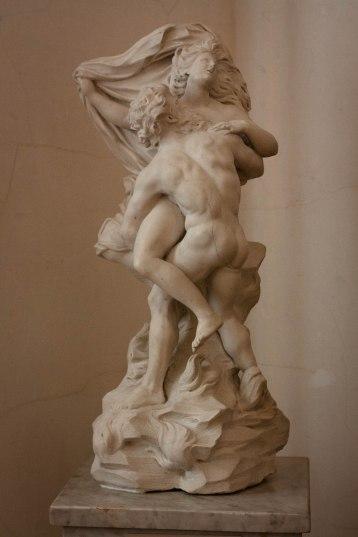 Statues at Saint Petersburg's State Hermitage Museum