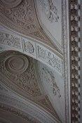 Ornate ceiling in Saint Petersburg's State Hermitage Museum