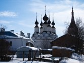 Church in the center of Suzdal